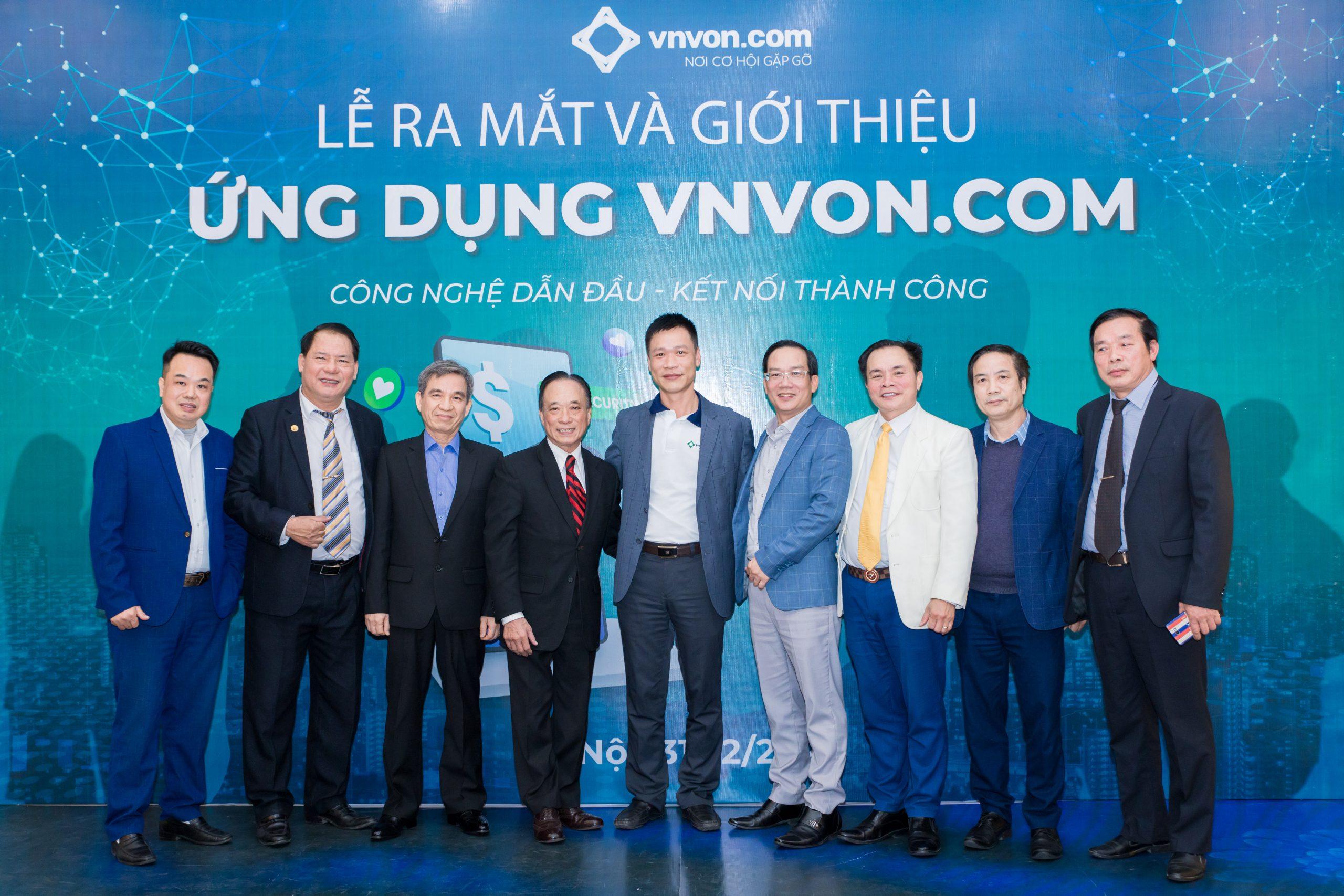 TOÀN CẢNH SỰ KIỆN RA MẮT ỨNG DỤNG ĐẦU TƯ VNVON.COM
